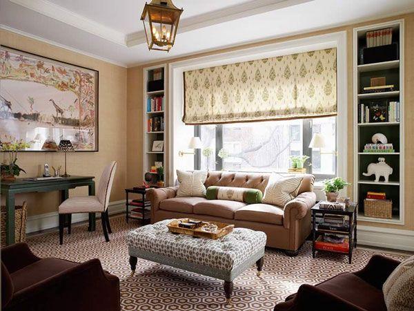 detalus gyvenamojo kambario dizainas
