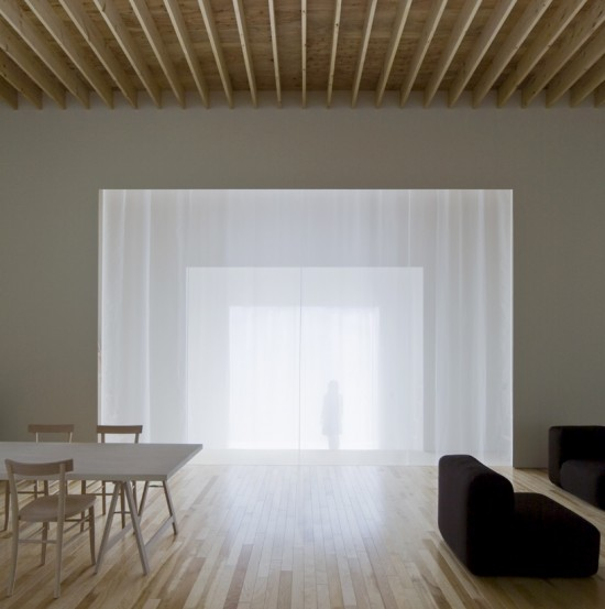 japonų minimalistinis interjeras