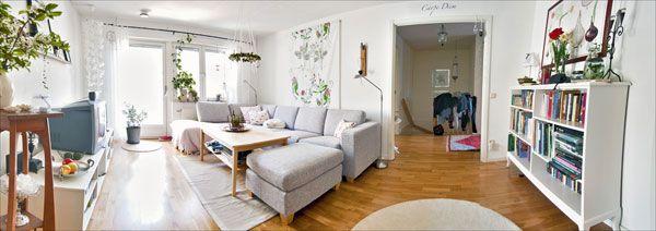 panoraminis svetainės kambario dizainas