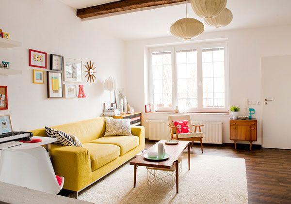 paprastas gyvenamojo kambario dizainas