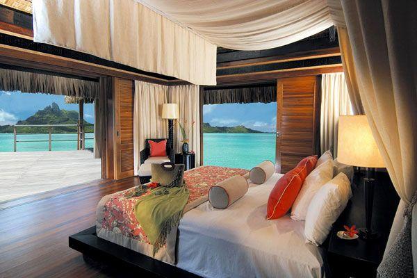 vėsus miegamojo kambario vaizdas