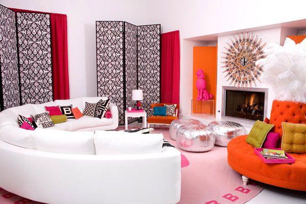 vakarėlių svetainės kambario dizainas