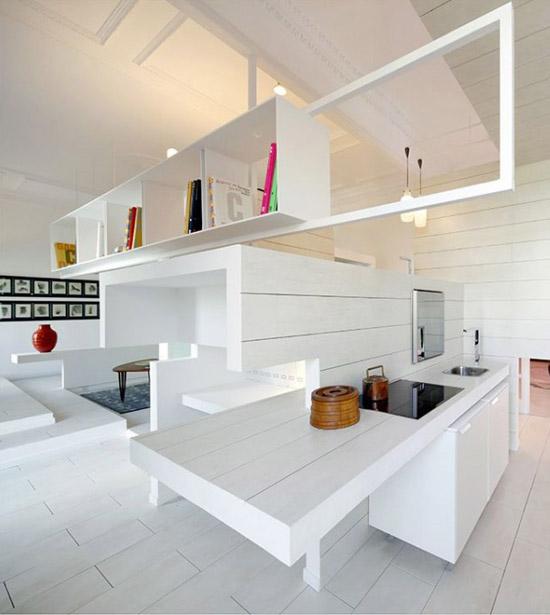 virtuvės vaizdas bute