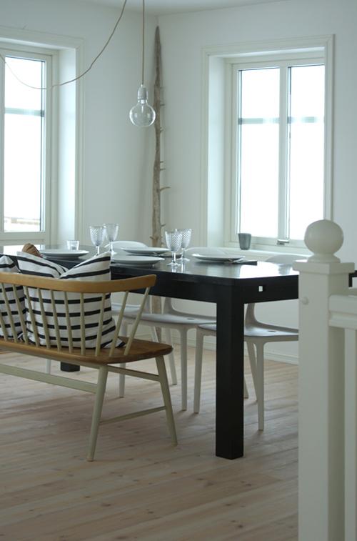 stalas valgomajame
