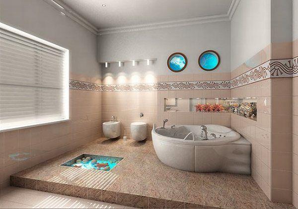 langeliai-iliuminatoriai vonios kambaryje