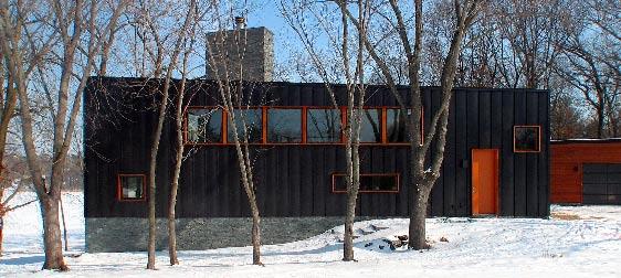 namas žiemą altus architecture