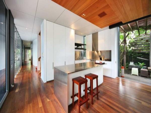 virtuvės dizainas namas australijoje
