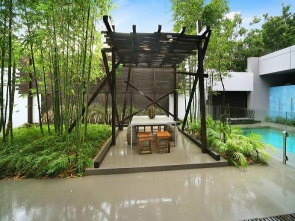 lauko baseinas namas australijoje