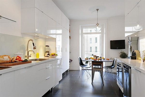 virtuvės interjero perspektyva