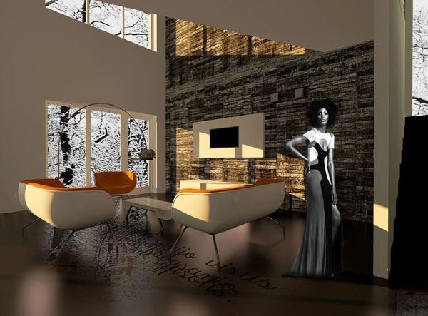 Namas 3 (Vaizdas i svetaines zona)