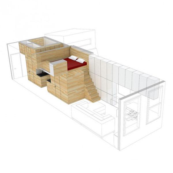 mažo buto erdvinis modelis2