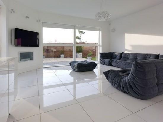 Svetainės Kambario Interjeras Namų Dizainas