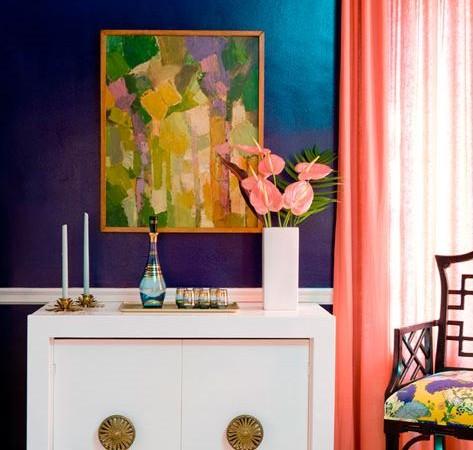 interjero dekoro spalvos