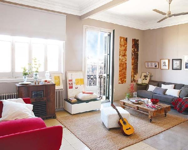 jaukus namas Barselonoje