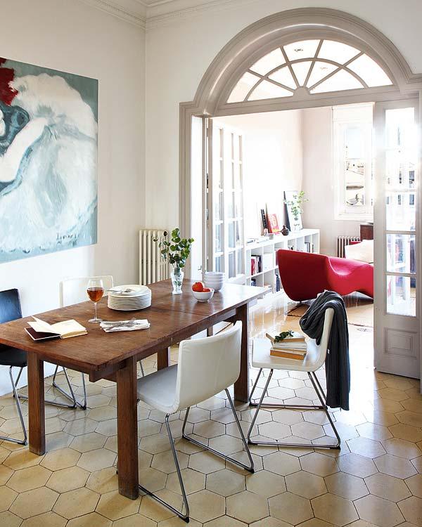 valgomasis kambarys name Barselonoje