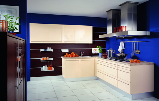 mėlyna spalva virtuvės interjere 8