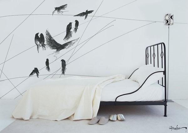 Apuka sienos dekoras 04