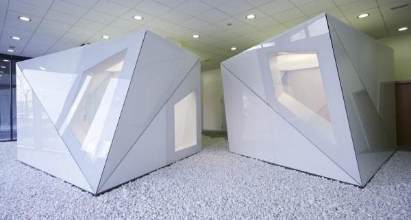 Du kabinetų blokai, IT ofisas