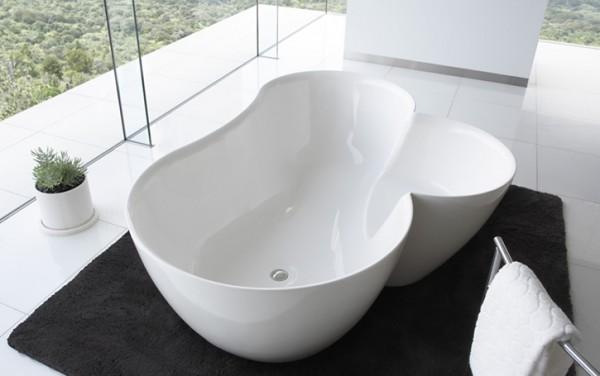 vonios vaizdas iš viršaus