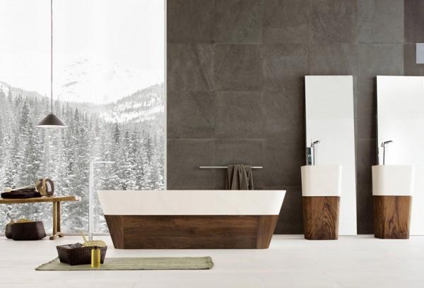 Vonios Interjeras Kontrastai Nam Dizainas