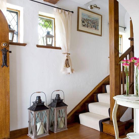 laiptai prieškambaryje
