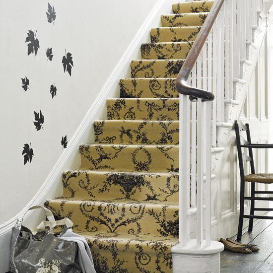 laiptai, lipdukai ant sienos