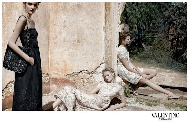AD CAMPAIGN Valentino Spring-Summer 2012.2
