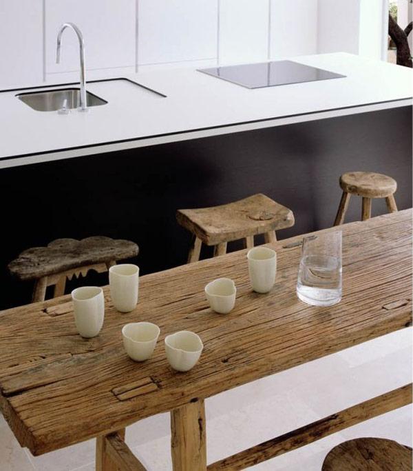 virtuvės interjero dizaino detalės
