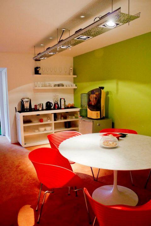 biuro virtuvėlės interjeras