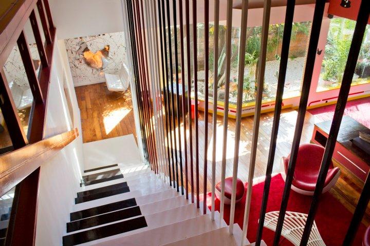 laiptai - klavišai iš viršaus