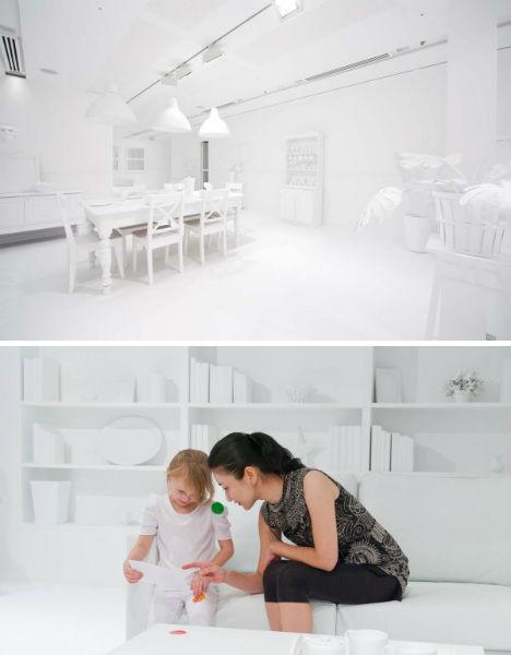 vaikų nuspalvota interjero instaliacija1