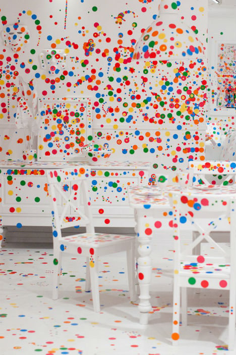 vaikų nuspalvota interjero instaliacija4