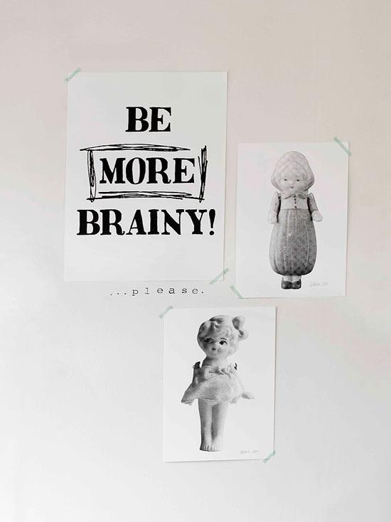 plakatas - būk protingesnis
