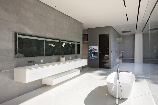 vonios interjero erdvė ir prabanga