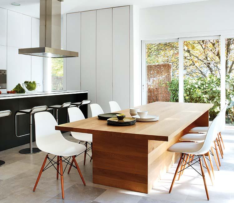 virtuvės, valgomojo erdvės interjeras1