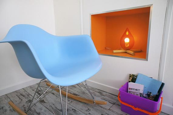 pop art interjeras mažame bute, detalės