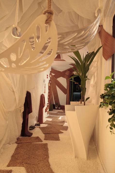 Interjero dizaino projektas – Svajonių sodas, Madride