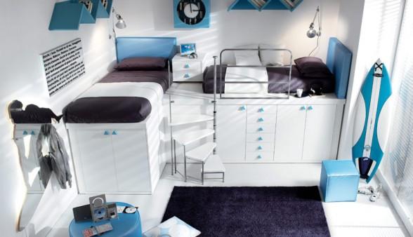 išradingas erdvės išnaudojimas vaiko ar paauglio kambaryje 3