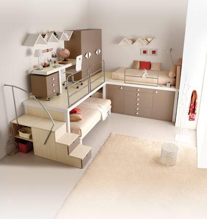 išradingas erdvės išnaudojimas vaiko ar paauglio kambaryje 1