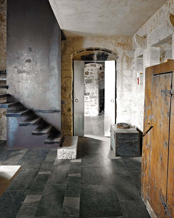 holo interjeras, laiptai