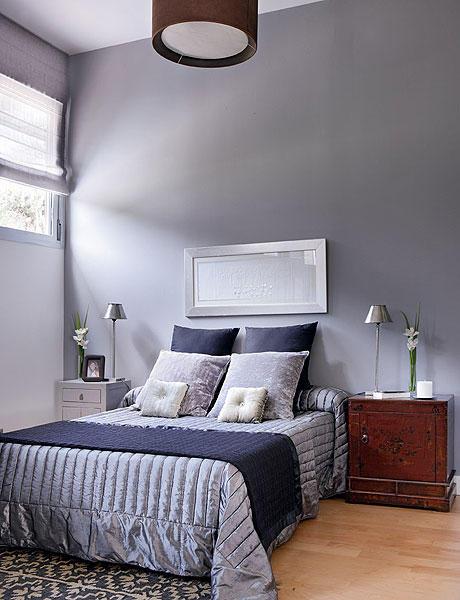 48 m2 buto interjeras, miegamasis