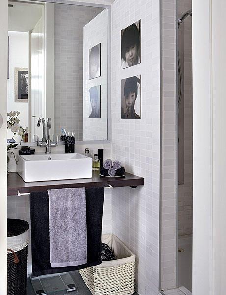 48 m2 buto interjeras, vonios kambarys