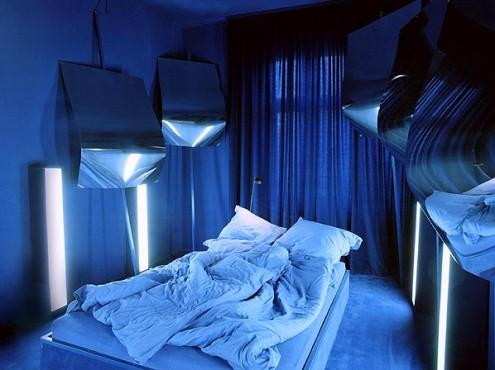 mėlynas kambarys