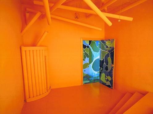 oranžinis kambarys
