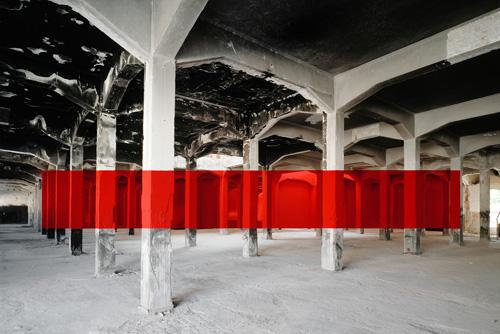 architektūrinė instaliacija georges-rousse3
