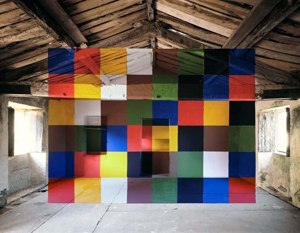 architektūrinė instaliacija georges-rousse1