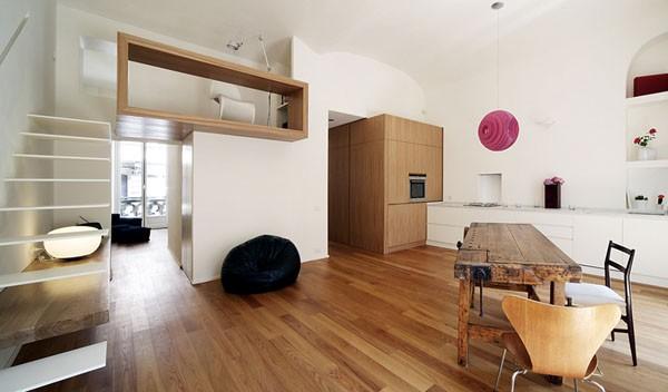 buto bendros erdvės interjeras