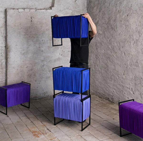 medžiaginės-lentynos-kėdės