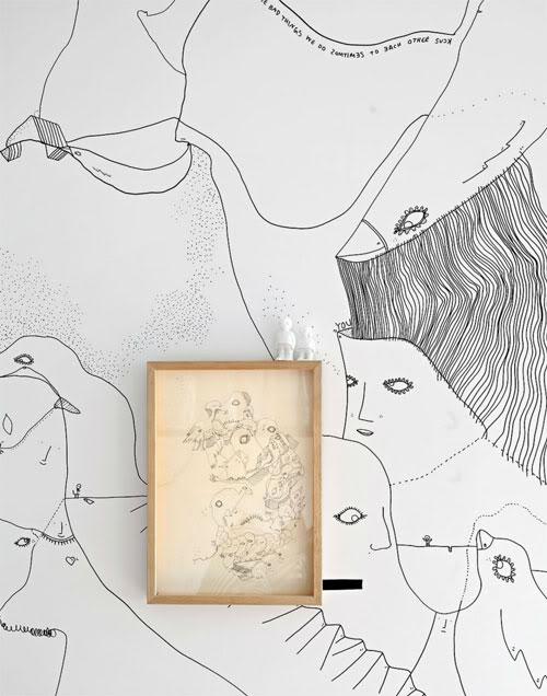 piešiniai ant sienų, paveikslo rėmeliuose