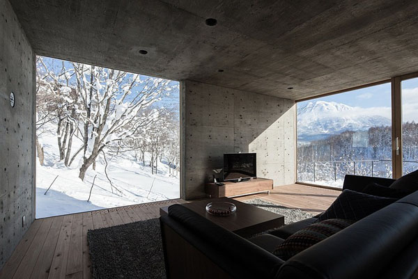 house-hirafu-florian-busch-architects svetaines interjeras